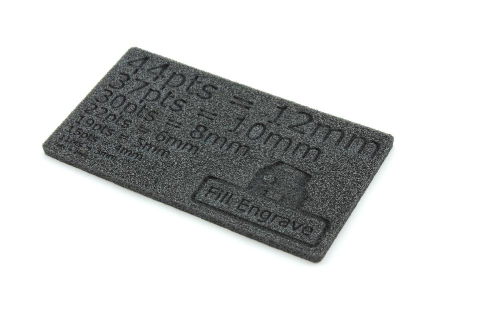 Plastazote LD29 5mm - Fältgravyr